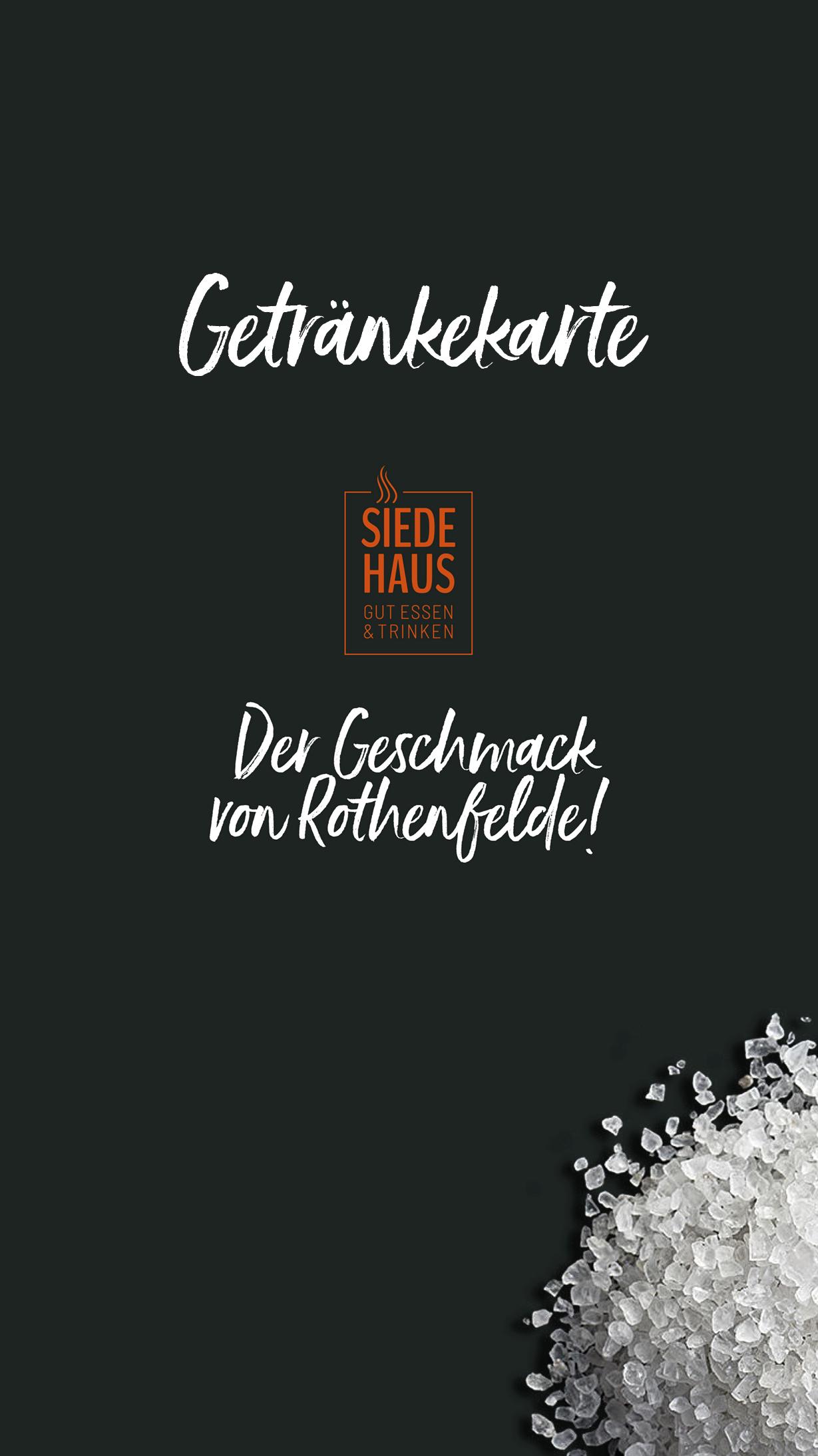Siedehaus_Getränkekarte